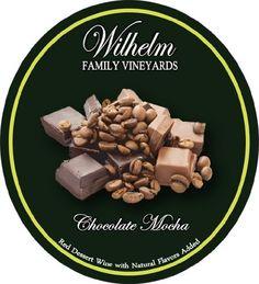 Dessert Wine.  NV Wilhelm Family Vineyards Chocolate Mocha Red 375 mL ** Additional details @ http://www.amazon.com/gp/product/B00FWZOBGM/?tag=wine3638-20&pbc=170816025449