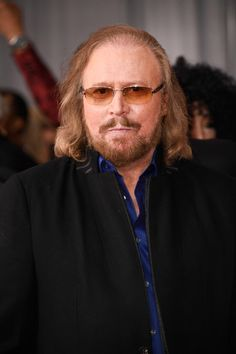 Barry Gibb Photos Photos - Singer Barry Gibb attends The 59th GRAMMY Awards at STAPLES Center on February 12, 2017 in Los Angeles, California. - The 59th GRAMMY Awards - Arrivals