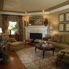 Corner Fireplace - hearty-home.com