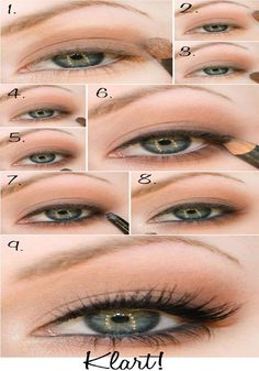 50 makeup tutorials for green eyes - amazing green eye makeup tutorials for work. - - 50 makeup tutorials for green eyes - amazing green eye makeup tutorials for work for prom for weddings for every day easy step by step diy guide for b. Wedding Makeup Tutorial, Wedding Day Makeup, Natural Wedding Makeup, Natural Makeup, Natural Eye Makeup Step By Step, Soft Makeup, Hair Wedding, Green Wedding, Natural Beauty