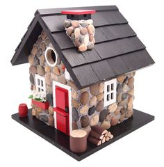 Decorative Birdhouses for $141.99 with Free Shipping! Windy Ridge Cabin Birdhouse.