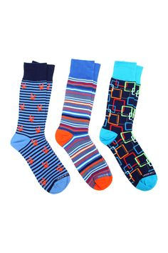 Don't know what to get Dad for Father's Day? Fun & cozy socks are a must!