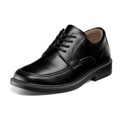 Kids Boys Black Slip On Plain Classic Dress Shoes Styled In Italy ...