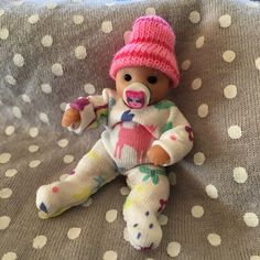 Art Dolls-ooak Ooak Polymer Clay Dolls & Bears Tea Cup Twin Babies
