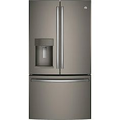 GE Appliances GFE26GMKES 25.8 cu. ft. French Door Refrigerator - Slate