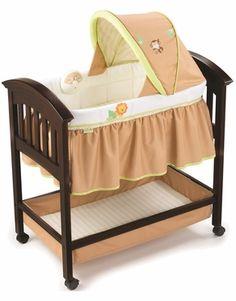 Summer Infant Wood Bassinet - Swingin Safari