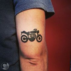 small simple motorcycle tattoo on forearm bucket list pinterest motorcycles tattoos on. Black Bedroom Furniture Sets. Home Design Ideas