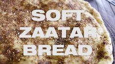 Lebanese Zaatar Bread - Manakish, Manoushe Flatbread Recipe Zatar Recipes, Flatbread Recipes, Beef, Drink, Baking, Food, Meat, Beverage, Bakken