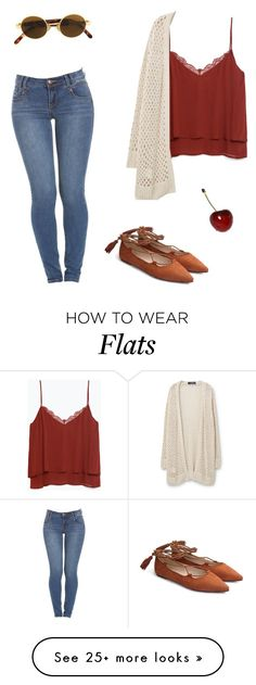 """pump my cherry"" by bluejulien on Polyvore featuring Moschino, Zara and Violeta by Mango"