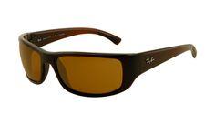 $19.88! #Ray #Ban #Sunglasses Ray Ban RB4176 Sunglasses Brown Frame Light Brown Polarized Lens