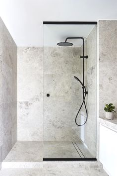Small bathroom designs 827747606500028485 - Well, no doubt it is not possible to enlarge the space, but you can create an illusion of wider space through DIY bathroom decoration ideas. Source by cathyjhomedecor Modern Bathroom Design, Bathroom Interior Design, Bathroom Designs, Kitchen Interior, Shower Designs, Toilet And Bathroom Design, Interior Livingroom, Design Kitchen, Kitchen Ideas