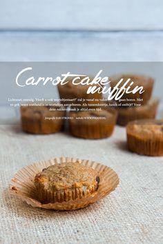 carrot cake muffins gezonde variant Carrot Cake Muffins, Healthy Recipes, Healthy Food, Carrots, Baking, Seeds, Healthy Foods, Carrot, Healthy Food Recipes