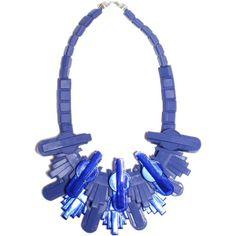 Techophilaea blue necklace   Ek Thongprasert