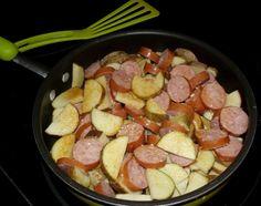 Quick and Easy Skillet Kielbasa and Potatoes