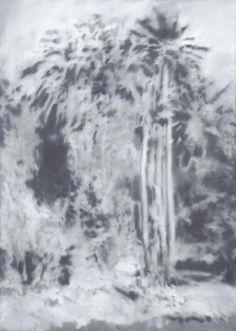 Gerhard Richter, Waldstück (Chile) Forest Piece (Chile), 1969 174 cm x 124 cm, Oil on canvas