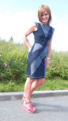 Джинсовое платье / Фотофорум / Burdastyle