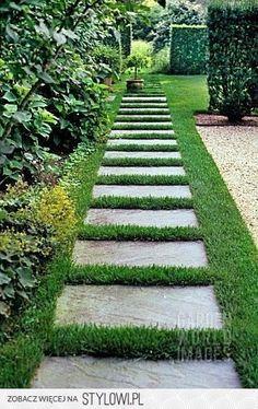 Красивые садовые дорожки. Идеи.
