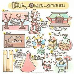 10 things to do in Shinjuku.