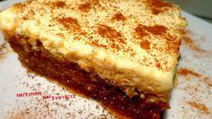 ΜΑΓΕΙΡΙΚΗ ΚΑΙ ΣΥΝΤΑΓΕΣ: Πολίτικο γλυκό με μαστίχα & κρέμα. Θεικό !!!! Greek Sweets, Greek Desserts, Party Desserts, Greek Recipes, Dessert Recipes, Turkish Sweets, Sweets Cake, Cupcake Cakes, Cupcakes