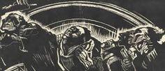 The Volunteers - Kathe Kollwitz, woodcut Kathe Kollwitz, Berlin, Propaganda Art, Art Story, Museum Of Modern Art, Linocut Prints, Woodblock Print, Printmaking, Poster