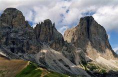 Uitzicht op de Sassolungo berggroep (Langkofel ) in de Dolomieten - Italië | by Pierino Smaniotto