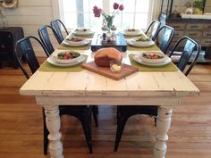 fixer upper antiquing a farmhouse table - Bing Images
