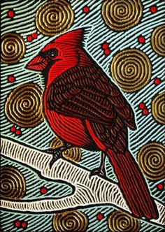 painted woodcut block on salvaged Douglas Fir 11 x 16 x Lisa Brawn 2010 Woodcut Art, Linocut Prints, Linoprint, Wood Engraving, Wildlife Art, Medium Art, Gel Medium, Woodblock Print, Bird Art