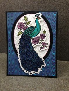 Perfect Peacock by gulfcoaststamper - Cards and Paper Crafts at Splitcoaststampers Card Making Inspiration, Making Ideas, Perfect Peacock, Peacock Painting, Bee Cards, Stampin Up Catalog, Scrapbooking, Stamping Up Cards, Heartfelt Creations