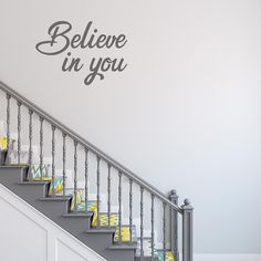 Believe in you Inspirational Wall Quotes, Vinyl Wall Quotes, How To Remove, How To Apply, Believe In You, Colours, Mirror, Design, Mirrors