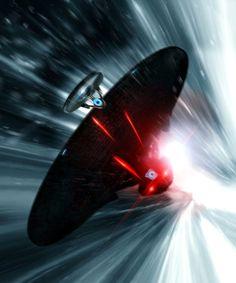 Star Trek Into Darkness [Hi-Res Textless Poster] by PhetVanBurton.deviantart.com on @deviantART