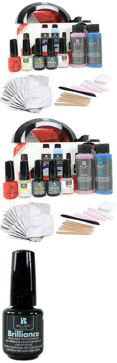 Manicure Pedicure Tools and Kits: Red Carpet Manicure Pro 45 Led Gel Nail Polish Kit Soak Off Starter Package -> BUY IT NOW ONLY: $79.95 on eBay!