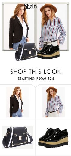 """""""SheInSide-XVI/8"""" by dzemila-c ❤ liked on Polyvore featuring Sheinside and shein"""
