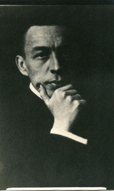 Beauty is in the eye of the beholder | Portrait of Sergei Rachmaninoff, c1910 via