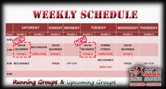 Schedule for Running Classes in May 2015!