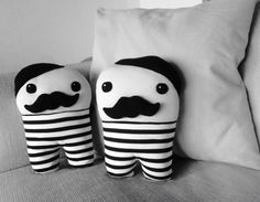 #mustakkio #aliesdesign #mustache #cushion #little man