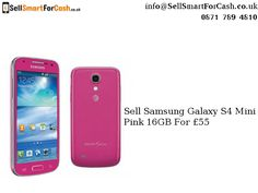 Sell used mobile phone online and get good money for your used #smartphones. Want to recycle or sell your used #Samsung Galaxy S4 Mini Pink for £55 online.