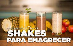 TV Chris Flores: 3 receitas fáceis de shakes para emagrecer