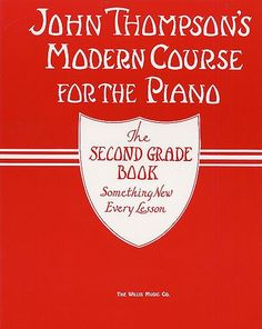 One of the books I had when I took piano.