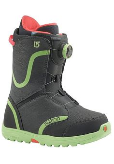 Features: Schnürung: BOA®, Softboots, Flex: 1 (weich), Terrain: Freestyle, Women`s Specific True Fit Design, Lacing: NEW Boa® Coiler Closure System, Liner: Imprint 1 Liner with Integrated Lacing, Cushioning: DynoLITE Outsole with NEW Sleeping Bag Reflective Foil, Flex and Response: Soft Flexing Shell Materials and NEW 1:1 Soft Flex Tongue, Comfort: Total Comfort Construction, Snow-Proof Interna...