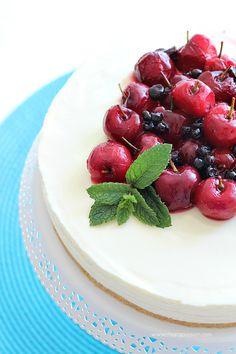 Cheesecake al limone senza cottura by Chiarapassion
