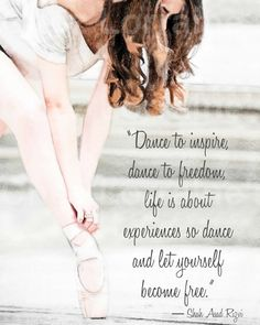 Dance to Inspire: A Ballet Dance Watercolor Fine by ChezLorraines