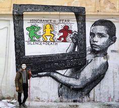 Noire - Italian Street Artist - Taranto (IT) - 11/2015 -  \*/  #noire #streetart #italy