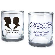 Personalized Shot Glass/Votive Holder - it's cute, you know it. Do a shot & think of the wrynns