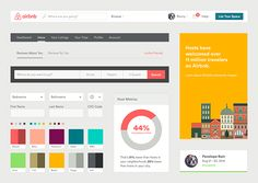 Airbnb, Uber and Mailchimp: Inside the Web Design Style Guides of 10 Brands We Love – Design School Website Style Guide, Web Style Guide, Brand Style Guide, Design Web, Love Design, Style Tiles, Palette Design, Photoshop, Ui Web
