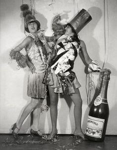 Happy New Year. Carnival in Berlin, 1928