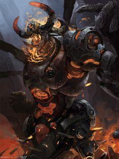 Demon Droid Adv. by nubb - Iwo Widulinski - CGHUB via PinCG.com