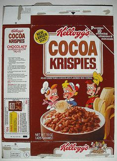 Kellogg's Cocoa Krispies (box from 1985)