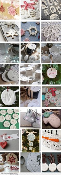 Salt Dough Christmas Ornaments & Decorations