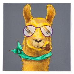 Hipster Llama from Z Gallerie