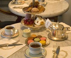 AFTERNOON TEA AT LADUREE INSIDE HARRODS LONDON